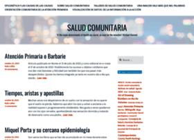 saludcomunitaria.wordpress.com