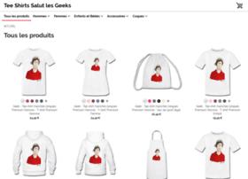 salutlesgeeks.spreadshirt.de