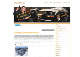 salvagecarsauction.info