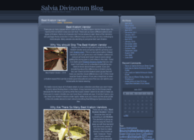 salviadivinorumblog.com