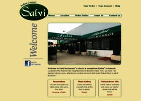 salvirestaurant.com