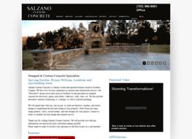 salzanoconcrete.com