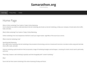 samarathon.org