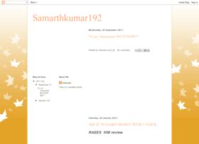 samarthkumar109.blogspot.sg