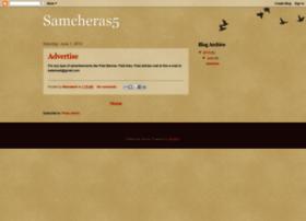 Samcheras5.blogspot.com