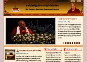 samdhongrinpoche.com
