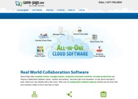 same-page.com