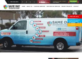 samedaycarpetcare.com