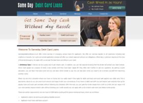 samedaydebitcardloans.co.uk