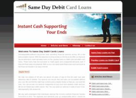 samedaydebitcardloans.org.uk