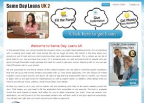 samedayloansuk2.co.uk
