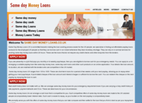 samedaymoneyloans.co.uk