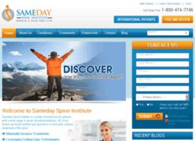 samedayspineinstitute.com