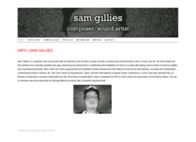 samgillies.com