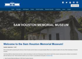 samhoustonmemorialmuseum.com