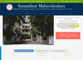 sammilanimahavidyalaya.org