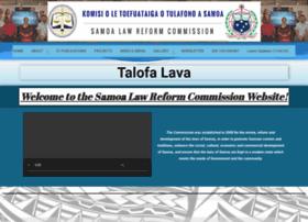 samoalawreform.gov.ws