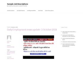 samplejobdescriptions.org