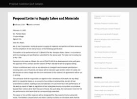 Sampleproposal.net