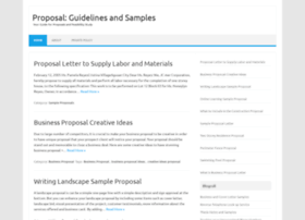 sampleproposal.net