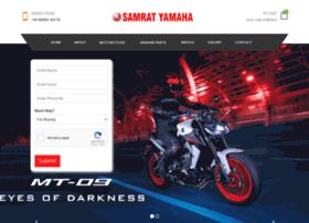 samratyamaha.com