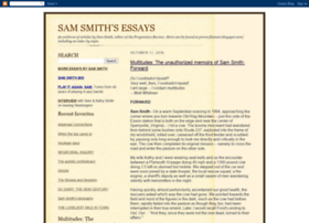 samsmithessays.blogspot.com