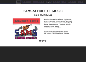 samsschoolofmusic.com