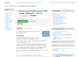 samsung-mobile-phone-usb-driver-software.updatestar.com