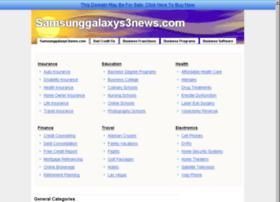 samsunggalaxys3news.com