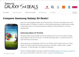 samsunggalaxys4deals.org.uk