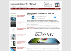 samsunggalaxys4manual.com