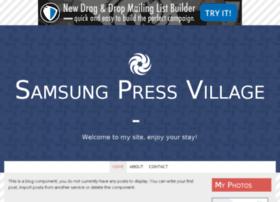 samsungpressvillage.bravesites.com