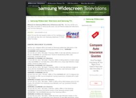 samsungtvs.widescreentelevisions.co.uk