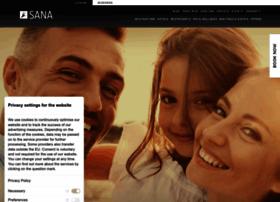 sanahotels.com