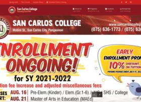 sancarloscollege.edu.ph