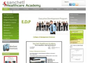 sanchetihealthcareacademy.com