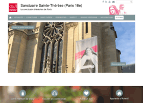 sanctuairesaintetherese-paris.org