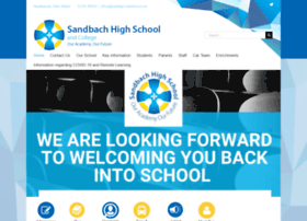 sandbachhigh.co.uk