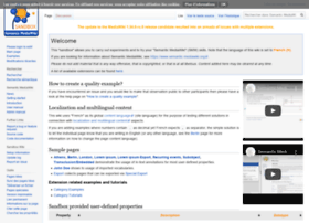 sandbox.semantic-mediawiki.org