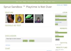sandbox.spruz.com