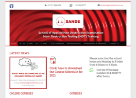 sande.co.za