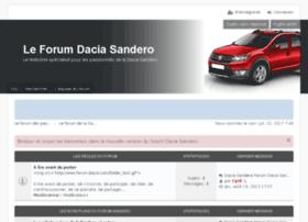 sandero.forum-dacia.com