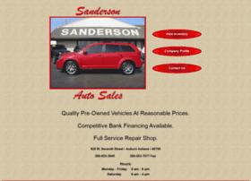 sandersonauto.com