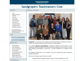 sandgropers.toastmastersclubs.org