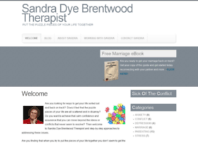 sandradyebrentwoodtherapist.com