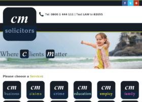 sandy.cmsolicitors.co.uk