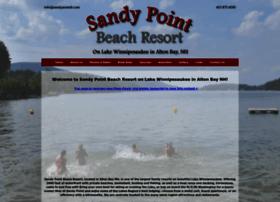 sandypointbeachresort.com
