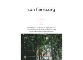 sanfierro.org