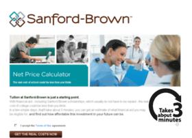 sanfordbrown.studentaidcalculator.com