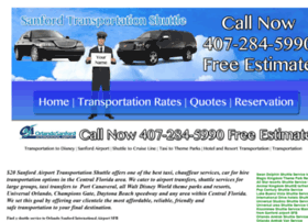 sanfordtransportationshuttle.com